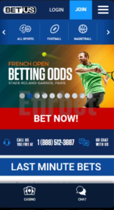 BetUS Sports Betting App