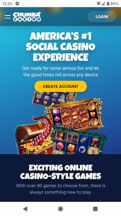 Chumba Casino App