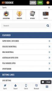MyBookie Sportsbook Mobile App