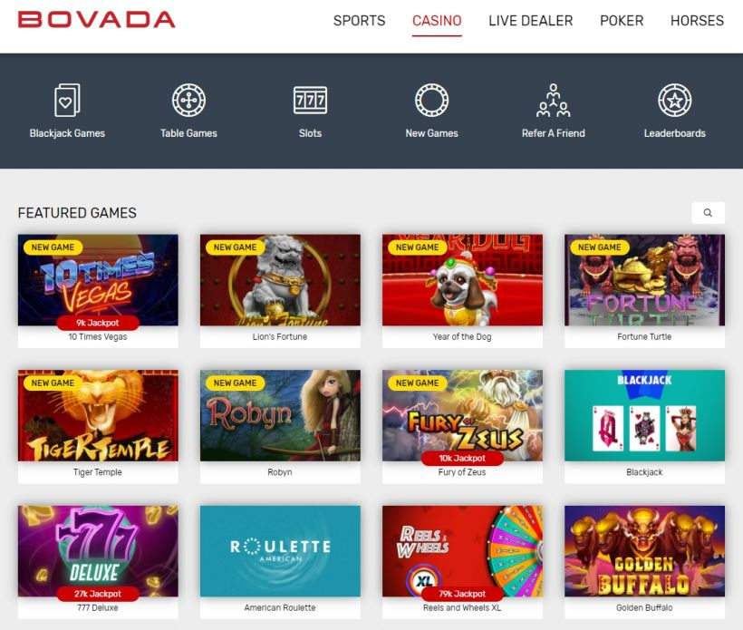 bovada-games