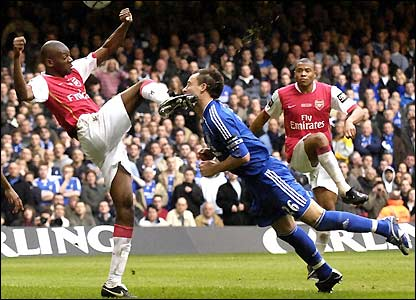 Terry hit by Diaby