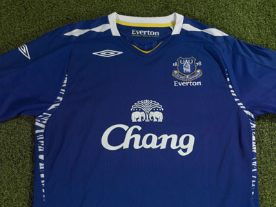 Everton 2007/2008 Home Kit