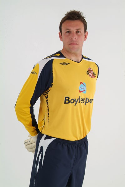 Sunderland Away Kit 2007/2008 Goalkeeper