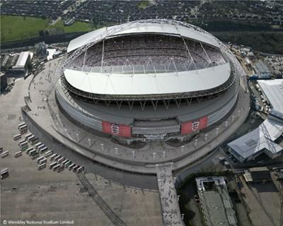 Wembley - Aerial Shot