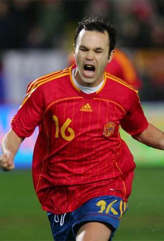 Iniesta - Spain and Barcelona