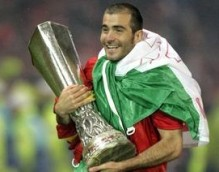Enzo Maresca, age 27, two-time winner of the UEFA Cup with Sevilla