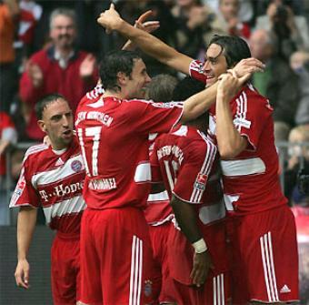El Bayern Munich arrolla en Bélgica. Fútbol