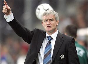 Mark Hughes - Blackburn Manager
