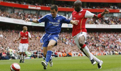 Arsenal and Chelsea finished 1-1 in the fixture last season, a result which handed United the title.