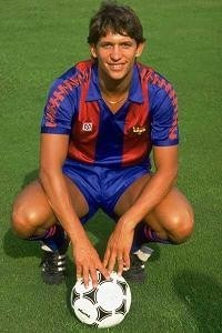 Gary Lineker during his time as a player at FC Barcelona