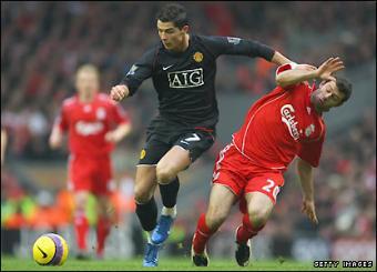 Cristiano Ronaldo - Liverpool 0-1 Manchester United