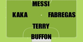 Ultimate 5-a-side Line-up