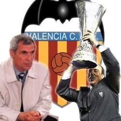 Héctor Cúper and Rafael Benitez, good memories at the Mestalla