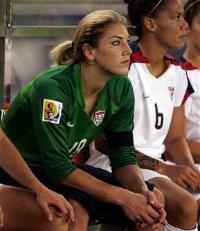 Hope Solo - US Keeper - Benched