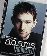 The cover of Tony Adams's