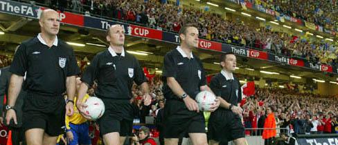 FA Cup Officials.