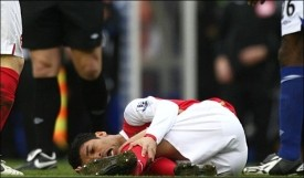 Eduardo da Silva's injury