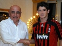 Alexandre Pato, now at AC Milan