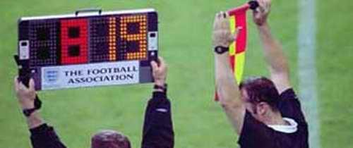 Football Association Referees at FA Cup.