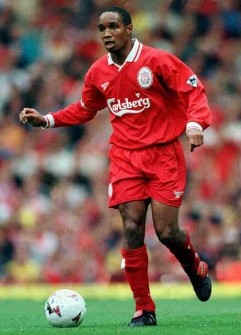 Paul Ince with Liverpool