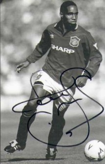 Paul Ince with Manchester United