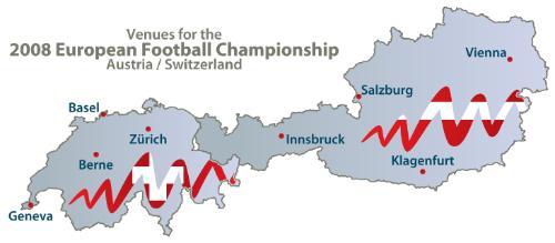 Euro 2008 Venues