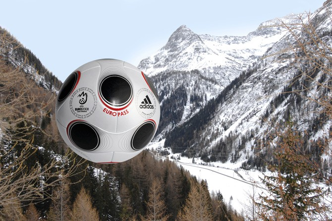 adidas Europass: The official football of Euro 2008.