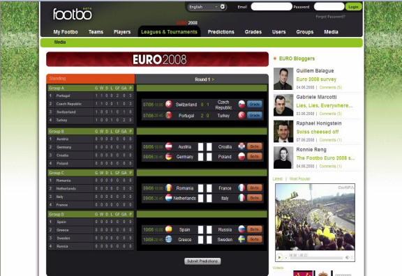 Footbo.com Screenshot