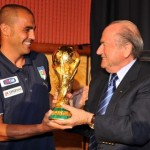 Blatter and Cannavaro