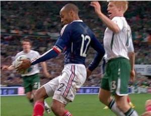 Thierry-Henry-Handball