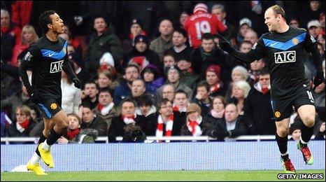 Arsenal 3-1 United