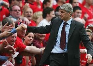Arsene Wenger & Fans