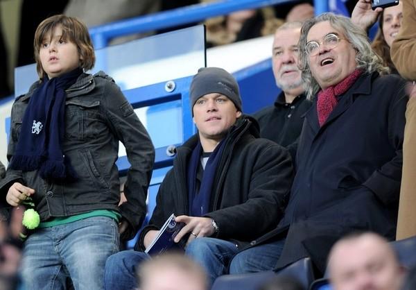 Matt Damon watches Chelsea, hates Tottenham
