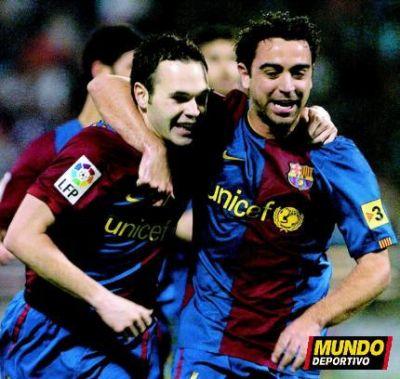Iniesta and Xavi - The Pass Masters