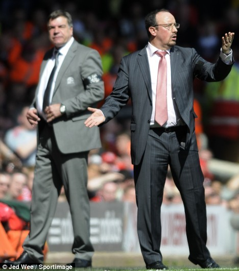 Allardyce and Benitez. Not the best of friends