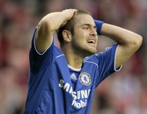 Frustrating times for Joe Cole