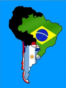 Brazil, Argentina, Chile, Paraguay and Uruguay will try to bring the World Cup back to South America