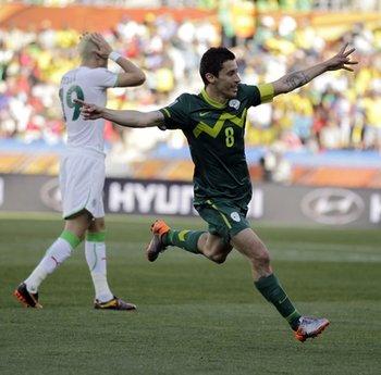 APTOPIX South Africa Soccer WCup Algeria Slovenia