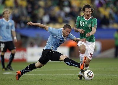 South Africa Soccer WCup Mexico Uruguay