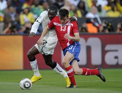 South Africa Soccer WCup Serbia Ghana