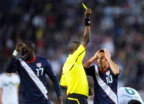 The protagonist of USA vs Slovenia: Koman Coulibaly from Mali