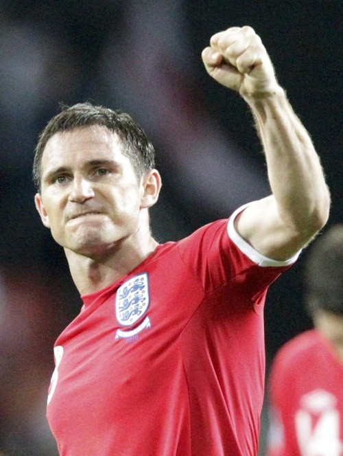 Frank Lampard was denied a first half equalizer