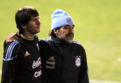 'Pity the student (Messi) who does not surpass his master (Maradona).' - Leonardo da Vinci
