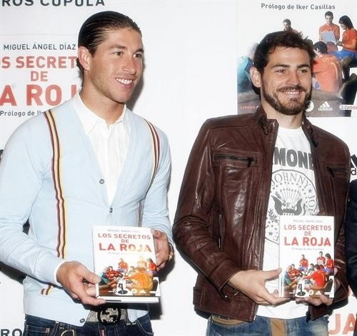 Iker Casillas and Sergio Ramos: 'The Secrets of the Spanish Team' by Miguel Angel Diaz