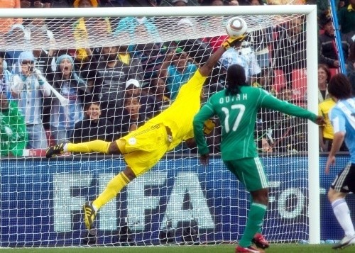 Vincent Enyeama was massive in goal for the Nigerians
