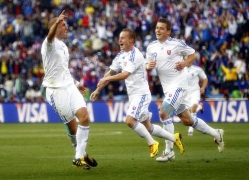 Robert Vittek scored a brace for Slovakia