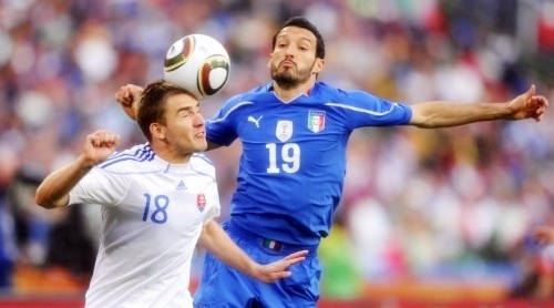 Gianluca Zambrotta may have played his last international for Italy