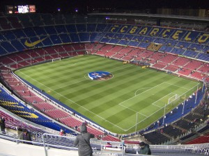 Barcelona's Camp Nou stadium
