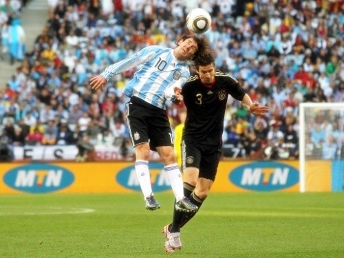 Leo Messi had been ill with flu before the match. He had 30 shots, 15 on goal, in 5 games at the World Cup with no goals