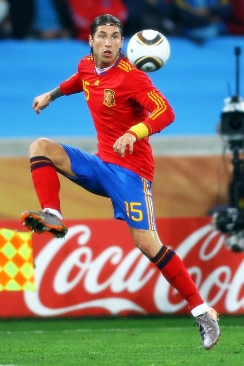 Sergio Ramos has developed into a consistent performer for Spain